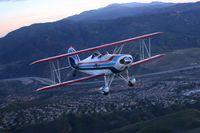 N3617L @ KAJO - air 2 air over Corona