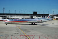 N437AA @ ORD - American Airlines Mcdonnell Douglas MD 83 taxiing at Chicago O'hare Airport - by David Burrell