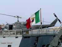 MM80950 @ LMML - AB212 MM80950/7-19 Italian Navy - by raymond