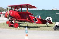 N6404Q @ TIX - Fokker DR1 Triplane