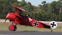 N6404Q @ TIX - Fokker DR 1