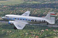 HA-LIX @ AIR TO AIR - Goldtimer Lisunov 2 (DC3) in Malev colors