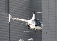 N76KG - R22 leaving Heliexpo Orlando