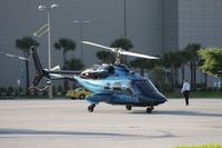 N145RC - Bell 230 leaving Heliexpo Orlando