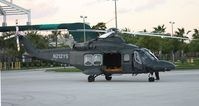 N212YS - AW139 military prototype at Heliexpo Orlando - by Florida Metal