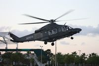 N212YS - AW139 military prototype leaving Heliexpo Orlando - by Florida Metal