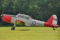 G-BVTX - 1952 De Havilland DHC-1 Chipmunk 22A, c/n: C1/0705 wears Serial WP809
