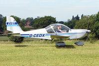 G-CEDX - 2006 Cosmik Aviation Ltd EV-97 TEAMEUROSTAR UK, c/n: 2827 visitor to Baxterley