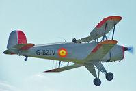 G-BZJV - 1957 Casa 1-131E Srs 1000, c/n: 1075 arriving at Baxterley