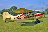 G-BRCW - 1946 Aeronca Aircraft Corporation AERONCA 11BC, c/n: 11AC-366 visitor to Baxterley