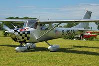 G-USAA - 1967 Reims F150G, c/n: 0188 At Baxterley