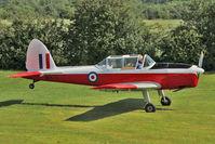 G-APPM - 1950 De Havilland DHC-1 CHIPMUNK 22, c/n: C1/0159 wears Serial WB711 at Baxterley