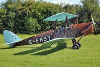 G-EMSY - 1940 Morris Motors Ltd DH82A TIGER MOTH, c/n: 83666 at Baxterley