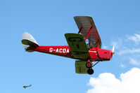 G-ACDA @ EGBK - 1934 De Havilland DH82A TIGER MOTH, c/n: 3175 at Baxterley