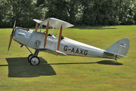 G-AAXG - De Havilland DH60M MOTH, c/n: 1542 at Baxterley