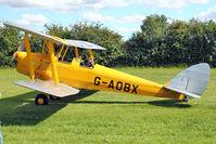 G-AOBX - 1940 Morris Motors Ltd DH82A TIGER MOTH, c/n: 83653 at Baxterley