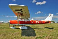 G-AWUU @ EGBG - 1968 Reims Aviation Sa CESSNA F150J, c/n: 0408 at Leicester