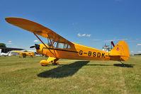 G-BSDK @ EGBG - 1941 Piper PIPER J5A, c/n: 5-175 at Leicester