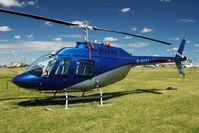 G-SUET @ EGBG - 1968 Bell 206B at Leicester  - ex ZS-HMV
