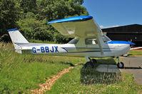 G-BBJX @ EGBG - 1974 Reims Aviation Sa CESSNA F150L, c/n: 1017