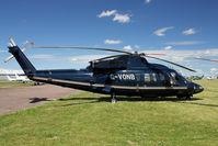 G-VONB @ EGBG - 1992 Sikorsky Aircraft SIKORSKY S-76B, c/n: 760399