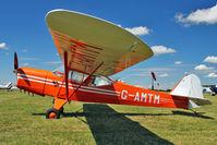 G-AMTM @ EGBG - 1952 Auster Aircraft Ltd AUSTER 5J1, c/n: 3101 at Leicester