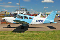 G-USSY @ EGBG - 1982 Piper PIPER PA-28-181, c/n: 28-8290011 at Leicester