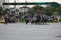 N407AH - Bell 407 being marketed to the military at Heliexpo Orlando