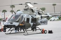 N407AH - Bell 407 being marketed to military at Heliexpo Orlando