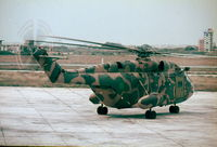 LC157 @ LMML - Super Frelon LC157 Libyan Air Force - by raymond