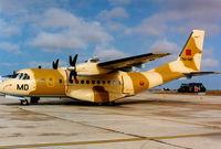 CNA-MD @ LMML - CN235 CNA-MD Royal Marrocco Air Force - by raymond