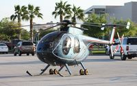 N1601Y - Hughes MD 369E will leave by trailer from Heliexpo Orlando