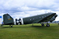 N1944A @ EGBP - making its final UK public appearance before departing to the USA and life in a museum - by Chris Hall