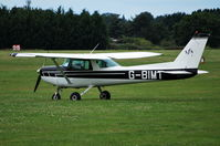 G-BIMT @ EGLM - Reims Cessna FA152 visting White Waltham from Staverton. Ex N8062L - by moxy