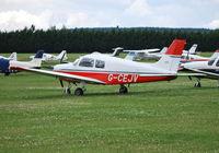 G-CEJV @ EGLM - Piper PA-28-161 Cadet at White Waltham. Ex N144ND - by moxy