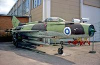 MG-77 @ EFHK - Finlands airmuseum Helsinki 14.5.01 - by leo larsen