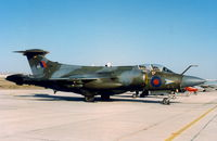XX901 @ LMML - Buccaneer XV901 208 Sqd RAF. This Bucc seen back in Malta in the first edition of the Malta International Airshow in 1993 after the British Forces withdrawn from their Malta Base on 31 March 1979. It was very nice indeed to see a Buccaneer back here!! - by raymond