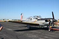 164169 @ LAL - T-34C in Coast Guard retro colors