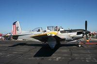 164169 @ LAL - T-34C in retro Coast Guard colors