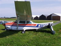 N73032 @ 21D - Overnight winds, thunderstorms damage many planes in Lake Elmo
