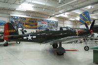 N163BP @ PSP - Bell P-63C Kingcobra at the Palm Springs Air Museum, Palm Springs CA