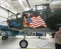 N8163H @ PSP - North American B-25N Mitchell at the Palm Springs Air Museum, Palm Springs CA