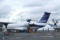 C-FUQY @ LFPB - Bombardier CL-600-2B19 Challenger 850 (CRJ-200) at the Aerosalon Paris/Le-Bourget 2011 - by Ingo Warnecke