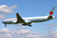 C-FIUL @ EGLL - Air Canada's 2007 Boeing 777-333ER, c/n: 35255 landing at Heathrow