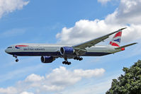 G-STBC @ EGLL - 2010 Boeing 777-336ER, c/n: 40542 at Heathrow