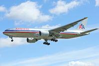 N770AN @ EGLL - 1999 Boeing 777-223, c/n: 29578 of American Airlines at Heathrow