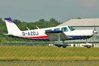 G-AZDJ @ EGSX - 1971 Piper PIPER PA-32-300, c/n: 32-7140068 landing at North Weald