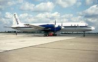 D-AOAP @ EDDB - Berlin Schoenefeld 13.8.93ex DDR-STI del.EGAR/Interflug nov.65 - by leo larsen