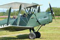 G-AMCK @ EGCB - 1941 De Havilland DH82A Tiger Moth, c/n: 84641 giving pleasure rides at 2011 Open Day