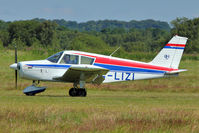G-LIZI @ EGCB - 1961 Piper PIPER PA-28-160, c/n: 28-52
